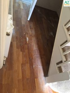 Wood Flooring ruined by Builders Work